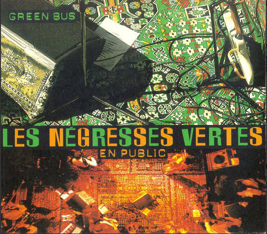 Les Negresses Vertes Green Bus (Les Negresses Vertes En Public) CD