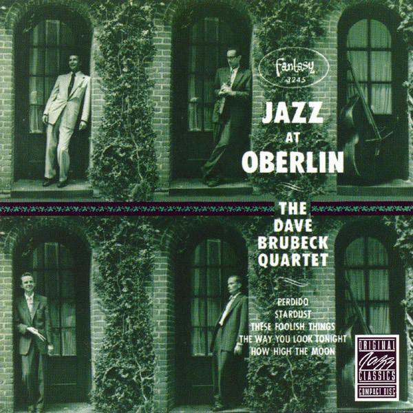 Dave Brubeck Quartet Jazz At Oberlin