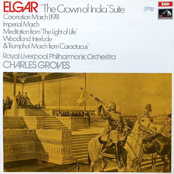 Elgar - Charles Groves The Crown of India Suite