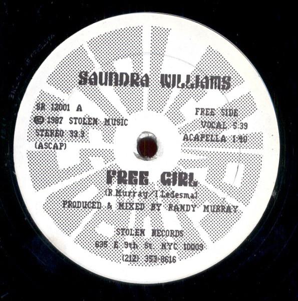 Williams, Saundra Free Girl Vinyl