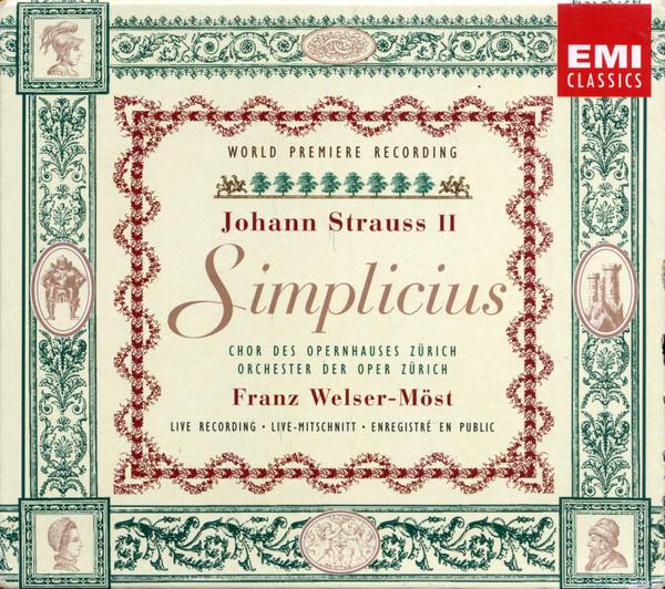 Strauss II - Franz Welser-Möst Simplicius
