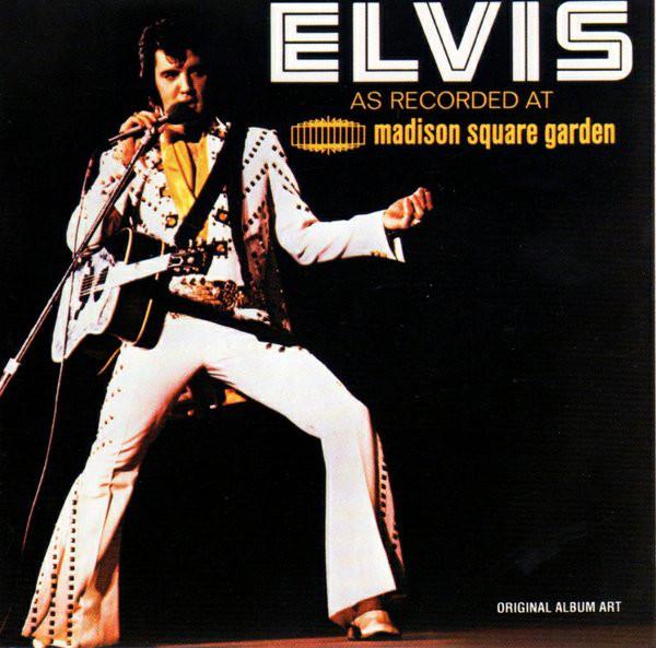 Presley, Elvis Elvis As Recorded At Madison Square Garden CD