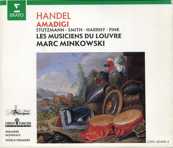 Handel - Stutzmann, Smith, Harrhy, Fink, Bertin, Les Musiciens Du Louvre, Marc Minkowski Amadigi