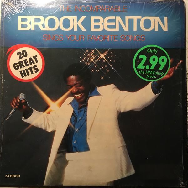 Benton, Brook The Incomparable Brook Benton Vinyl