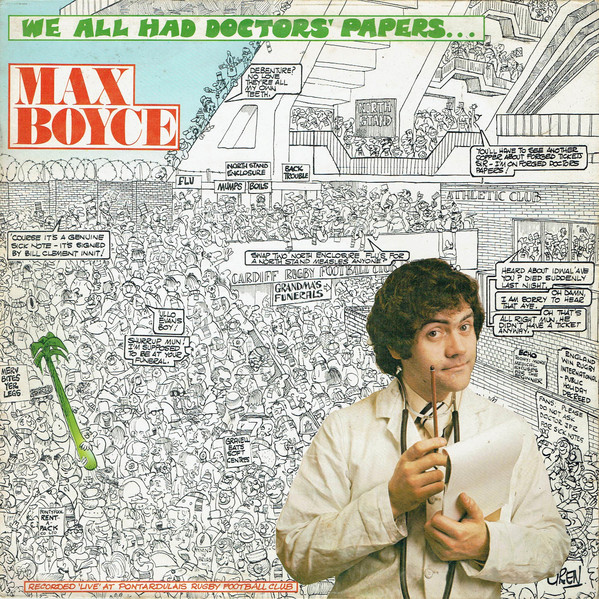 Max Boyce We All Had Doctors Papers