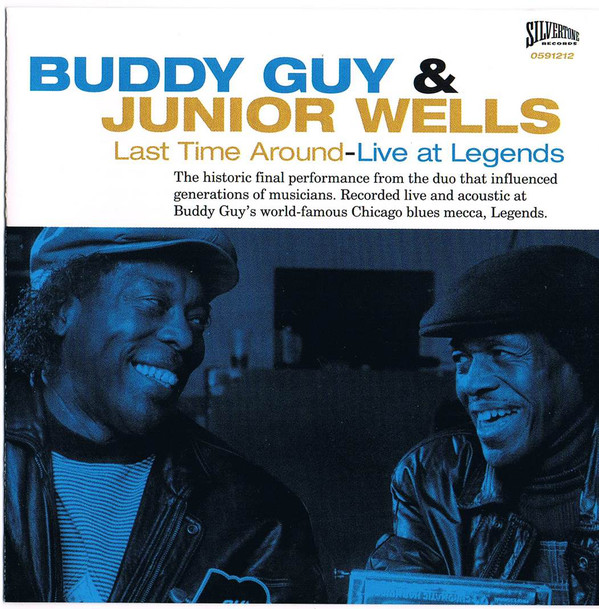 Buddy Guy & Junior Wells Last Time Around - Live At Legends CD