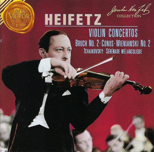 Heifetz - Bruch, Conus, Wieniawski, Tchaikovsky Violin Concertos
