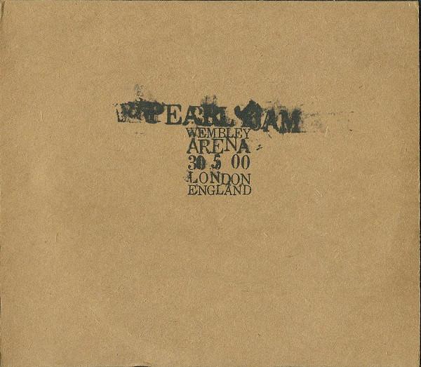 Pearl Jam 30 5 00 - Wembley Arena - London, England