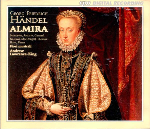 Handel - Monoyios, Rozario, Gerrard, Thomas, Nasrawi, MacDougall, Haye, Elsner, I Fiori Musicali, Andrew Lawrence-King Almira Vinyl