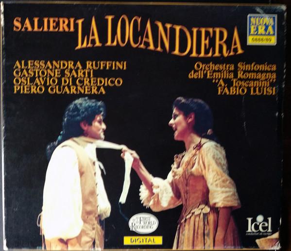 Salieri - Alessandra Ruffini, Gastone Sarti, Oslavio Di Credico, Piero Guarnera La Locandiera CD