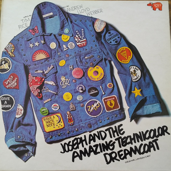 Andrew Lloyd Webber And Tim Rice Joseph And The Amazing Technicolour Dreamcoat Original London Cast Recording Of The Young Vic Production