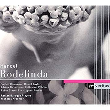 Handel - Sophie Daneman, Daniel Taylor, Nicholas Kraemer Rodelinda Vinyl