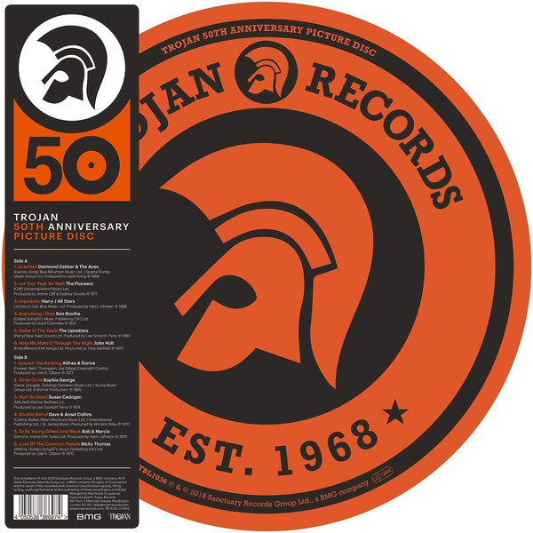 Various Trojan 50th Anniversary Picture Disc