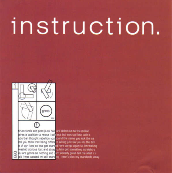 Instruction The Great EP CD