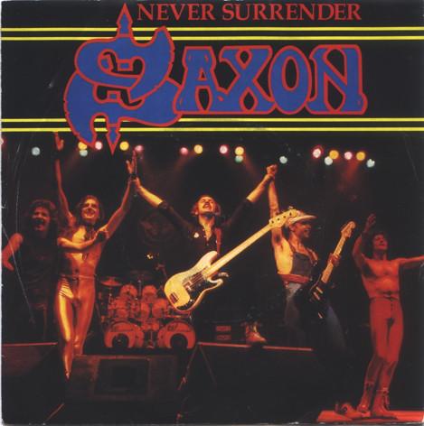 Saxon Never Surrender