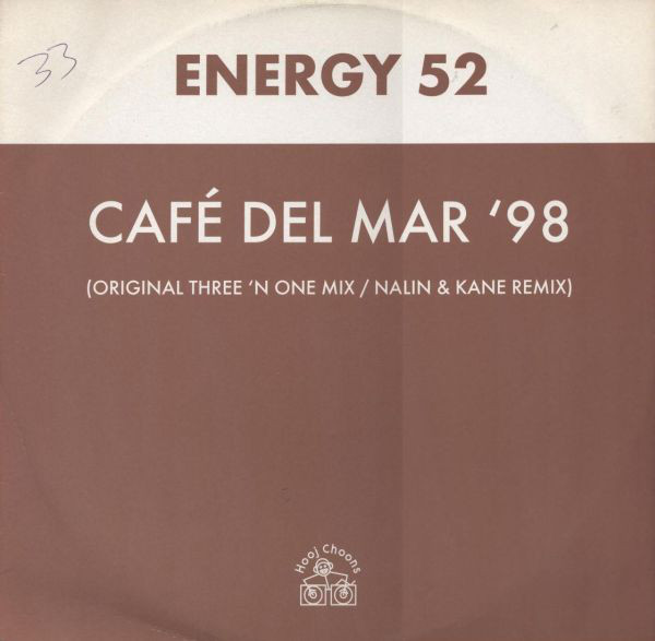 Energy 52 Cafe Del Mar '98