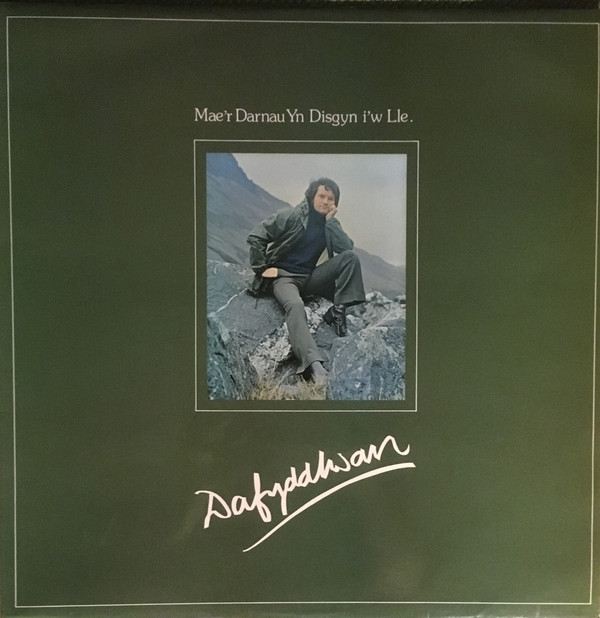 Dafydd Iwan Mae'r Darnau Yn Disgyn I'w Lle Vinyl