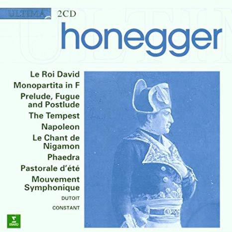 Honegger - Orchestre Philharmonique De Monte-Carlo, Marius Constant, Charles Dutoit Le Roi David / Orchestral Music