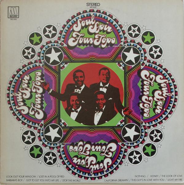 Four Tops Soul Spin Vinyl