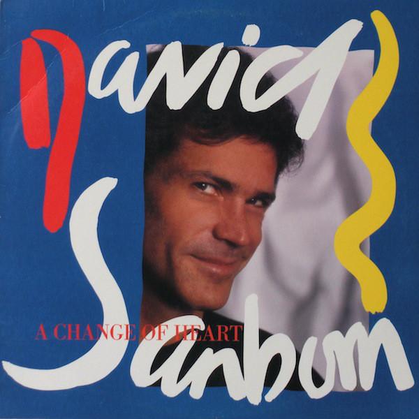 Sanborn, David A Change Of Heart Vinyl