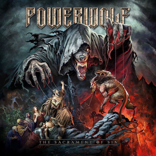 Powerwolf The Sacrament Of Sin  Vinyl