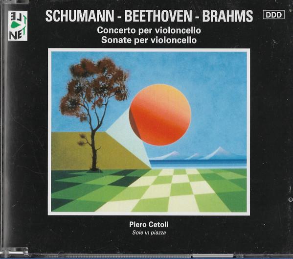 Schumann, Beethoven, Brahms Concerto Per Violoncello / Sonate Per Violoncello Vinyl