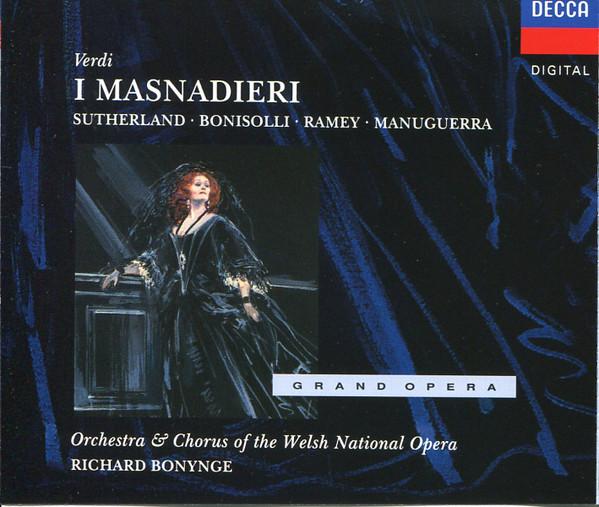 Verdi - Joan Sutherland, Franco Bonisolli, Samuel Ramey, Richard Bonynge, Orchestra & Chorus Of The Welsh National Opera I Masnadieri