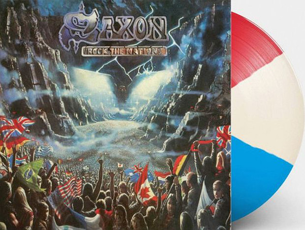 Saxon Rock The Nations Vinyl