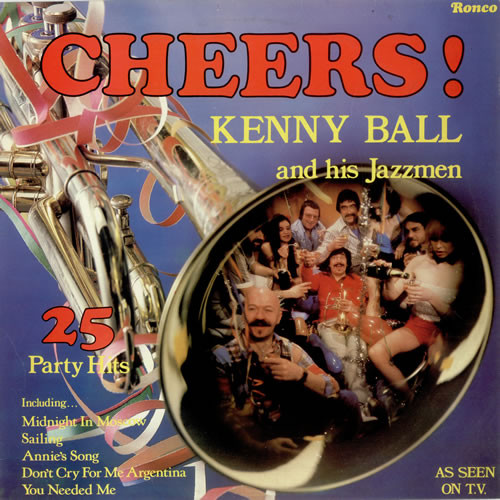 Kenny Ball & His Jazz Men Cheers! Vinyl