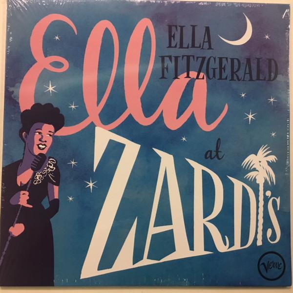 Ella Fitzgerald Ella At Zardi's Vinyl