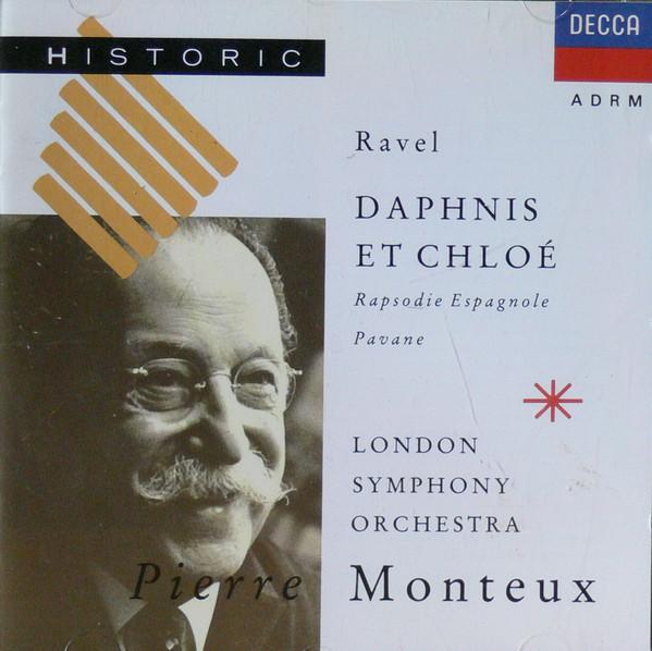 Ravel - Pierre Monteux Daphnis Et Chloe, Rapsodie Espagnole, Pavane Vinyl