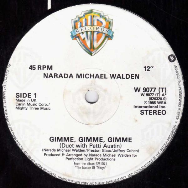 Walden Narada Michael Gimme Gimme Gimme Vinyl