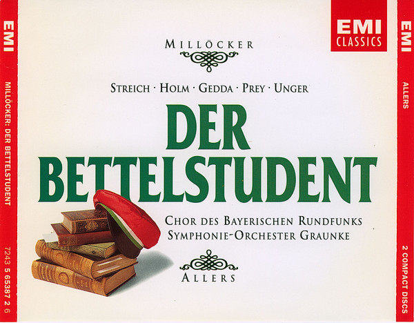 Millocker - Franz Allers Der Bettelstudent Vinyl