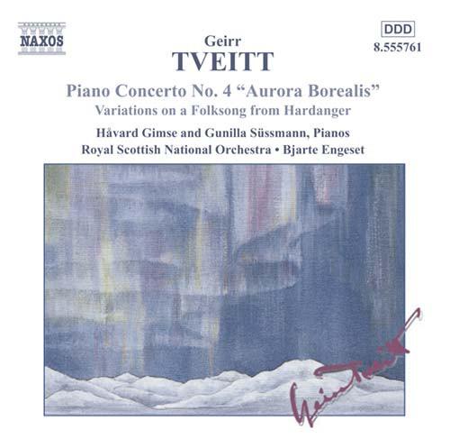 Geirr Tveitt, Håvard Gimse, Gunilla Süssmann, Royal Scottish National Orchestra • Bjarte Engeset Piano Concerto No. 4