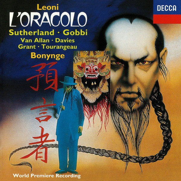 Leoni - Sutherland, Gobbi, Van Allan, Davies, Grant, Tourangeau, Bonynge L'Oracolo Vinyl