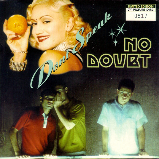 No Doubt Don't Speak  Vinyl