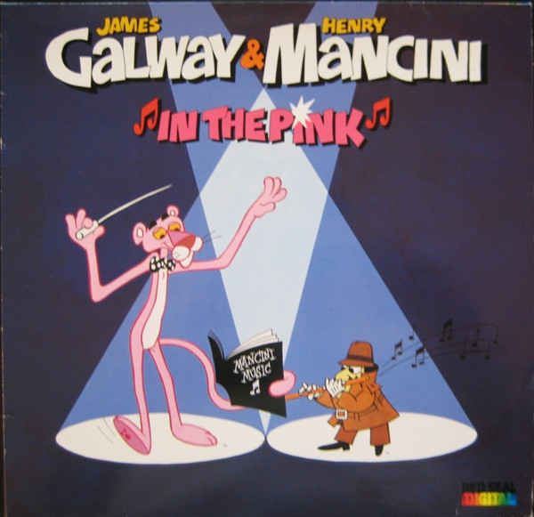 James Galway & Henry Mancini In The Pink Vinyl