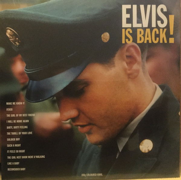 Elvis Presley Elvis Is Back! Vinyl