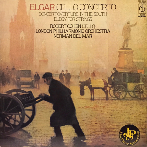 Elgar - Robert Cohen, Norman Del Mar Cello Concerto / Concert Overture 'In The South' / Elegy For Strings