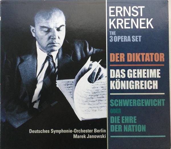 Krenek - Deutsches Symphonie-Orchester Berlin, Marek Janowski The 3 Opera Set : Der Diktator / Das Geheime Konigreich / Schwergewicht oder Die Ehre Der Nation