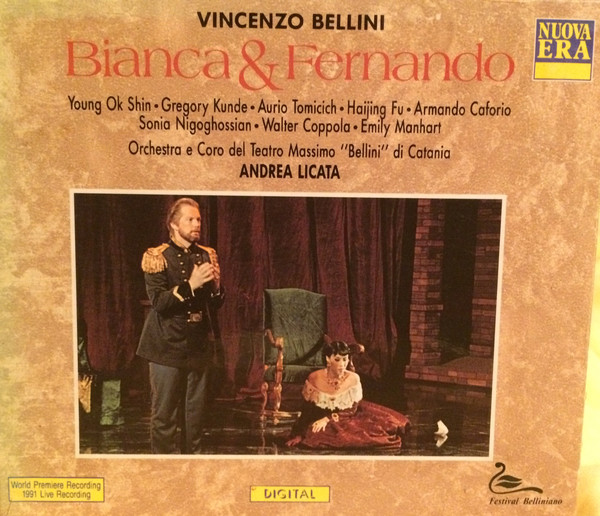 Bellini - Young Ok Shin, Gregory Kunde, Aurio Tomicich, Andrea Licata Bianca & Fernando