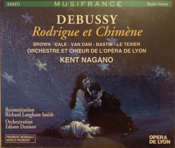Debussy - Orchestre et Chœurs De L'Opéra De Lyon, Kent Nagano  Rodrigue et Chimène Vinyl