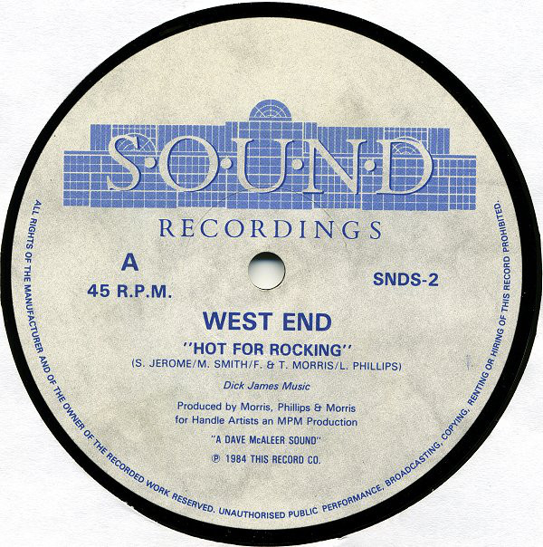 West End Hot For Rocking