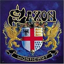 Saxon Lion Heart Vinyl