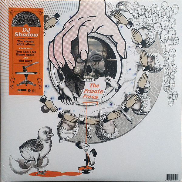 DJ Shadow The Private Press Vinyl