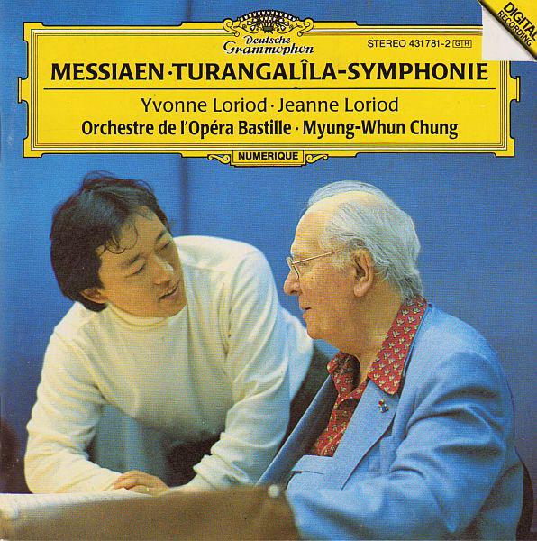Messiaen - Yvonne Loriod, Jeanne Loriod, Orchestre De L'Opéra Bastille, Myung-Whun Chung Turangalîla-Symphonie