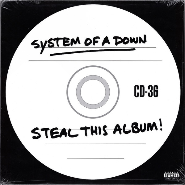 System Of A Down Steal This Album Vinyl