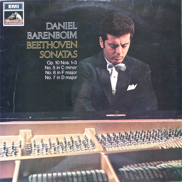 Beethoven - Daniel Barenboim Sonatas: No.5 In C Minor, Op.10 No.1, No.6 In F Major, Op.10 No.2, No.7 In D Major, Op.10 No.3