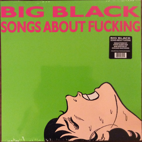 Big Black Songs About Fucking Vinyl