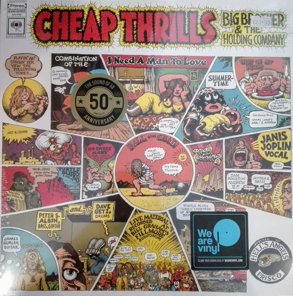 Big Brother & The Holding Company Cheap Thrills Vinyl